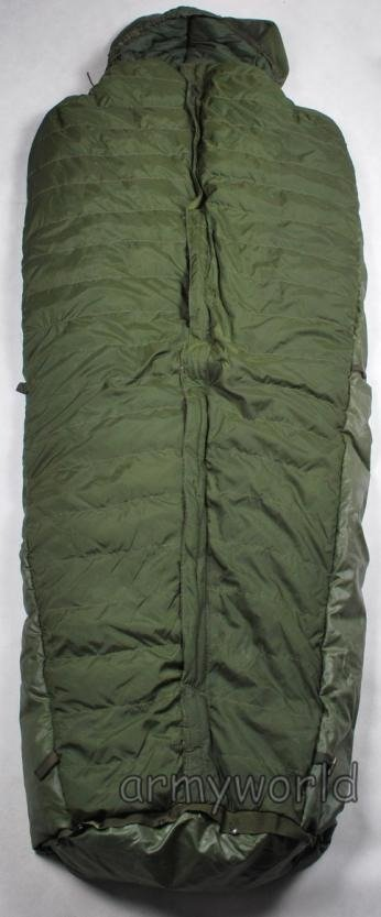 Dutch Military Down Sleeping Bag With Rubberised Back ...