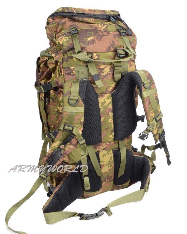 Italian Military Backpack Vegetato Original Used | MILITARY ...