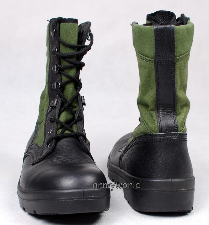 Military dutch boots jungle type new model original for New model boot