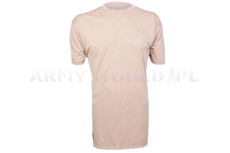 Themoactive t shirt under armour tactical beige original for Original under armour shirt