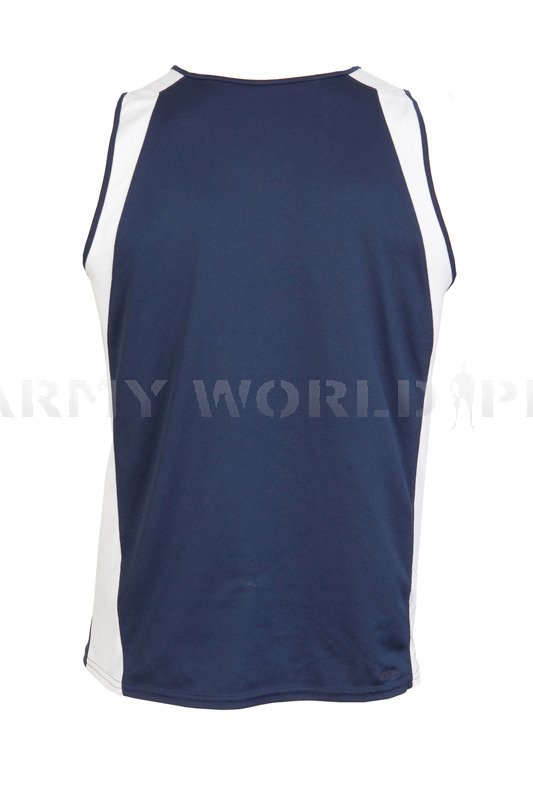 Thermoactive shirt nike navy blue white original used for Navy blue and white nike shirt