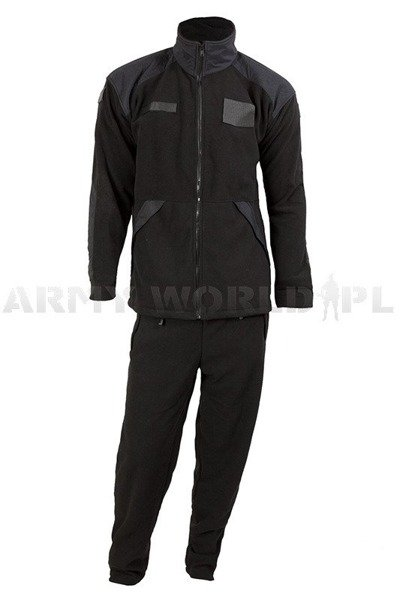 Military tracksuit Polish Windstopper 621/MON Original Black New