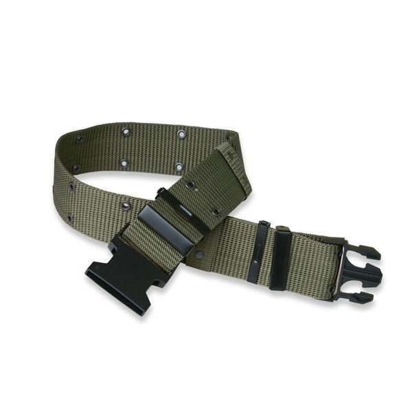US Tactical Webbing Belt LC-2 OLIV Mil-tec New