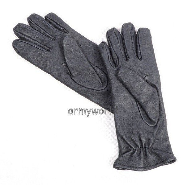 Winter Leather Officer Gloves Polish original New