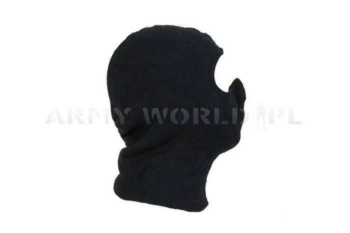 1- Hole Dutch Army Flame-Resistant  Balaclava Black M4 Used