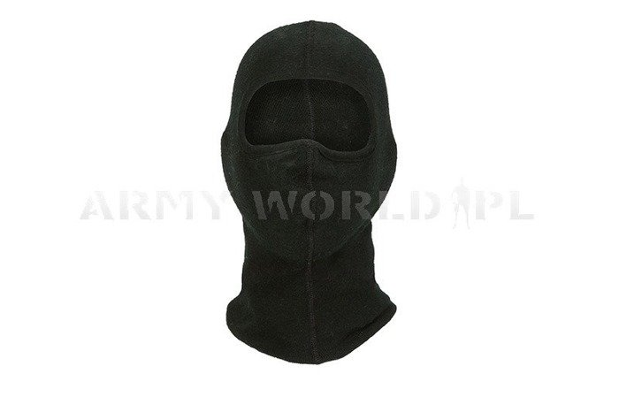 1- Hole Dutch Army Flame-Resistant Nomex Balaclava Black M1 Used