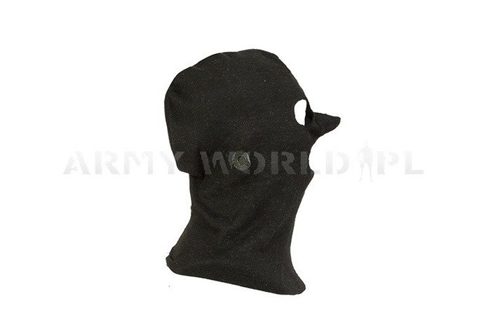 3-Hole Dutch Army Flame-Resistant Nomex Balaclava Black M3 Used