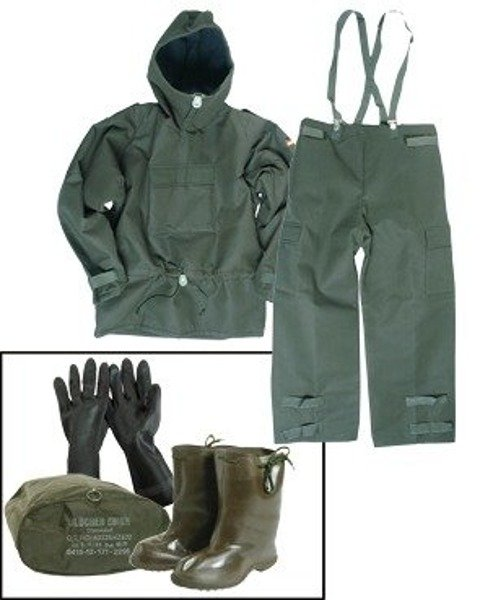 Anti-chemical Protective Set Military Oliv Original New