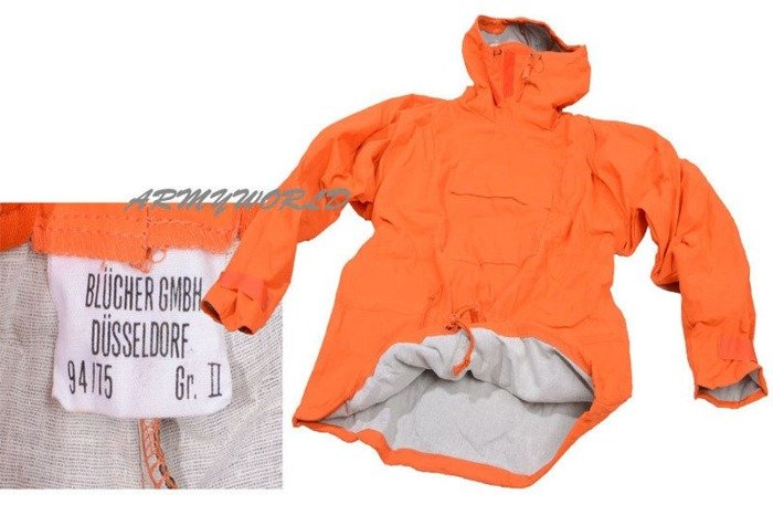 Antichemical Set Military Protective Set Origibal Orange New