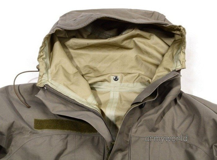 Austrian Rainproof Jacket Gore-tex Original Demobil - II Quality