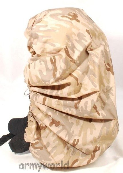 Backpack Cover Military Dutch Desert Original New
