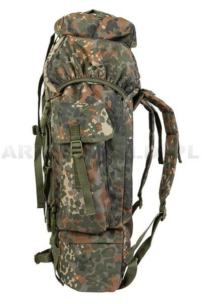 Backpack Import Flecktarn 65 Liters Mil-tec New