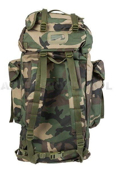 Backpack Import Woodland 65 Liters Mil-tec New