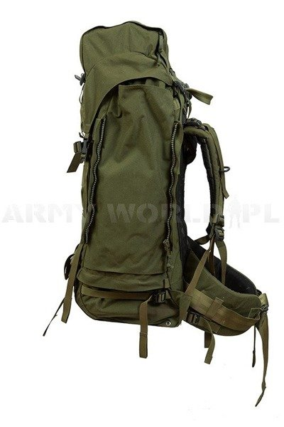 Backpack Lowe Alpine Dutch With Metal Frame 90l+40l Oliv Original Demobil
