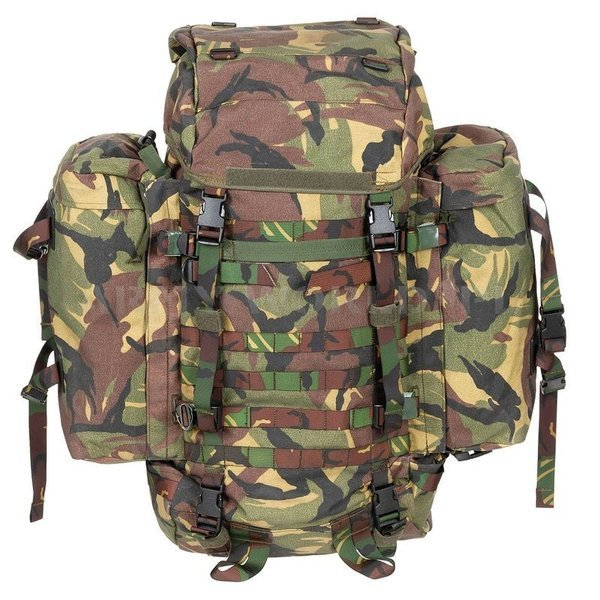 Backpack Lowe Alpine Military Dutch DPM With Metal Frame 110l Original Demobil