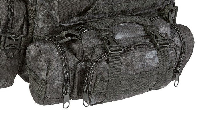 Backpack Mil-tec Defense Pack Assembly 36 Liters Mandra Night Original New