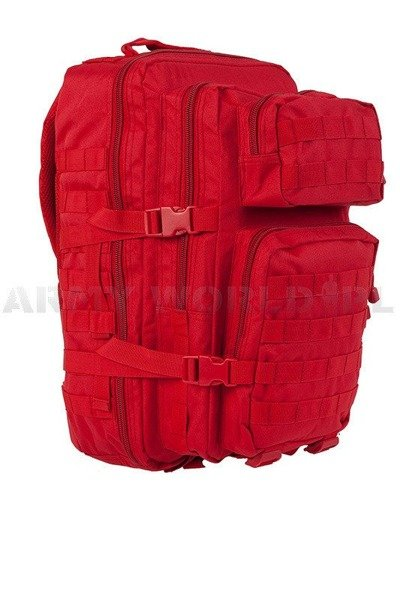 Backpack Model II US Assault Pack LG Red for medical services New