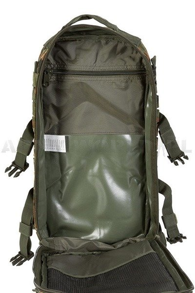 Backpack Model US Assault Pack LG LASER CUT Flecktarn New