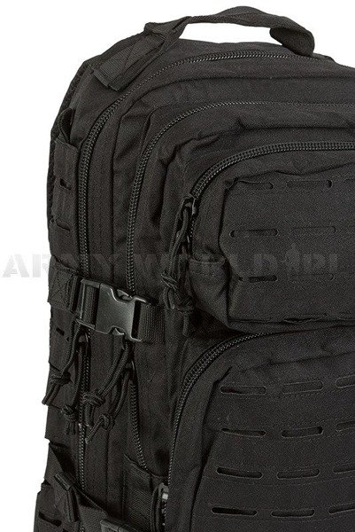 Backpack Model US Assault Pack SM LASER CUT Black New