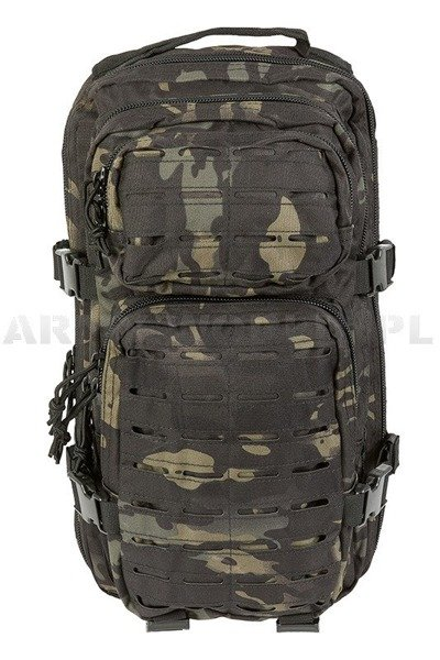 Backpack Model US Assault Pack SM LASER CUT Multit.blk. New