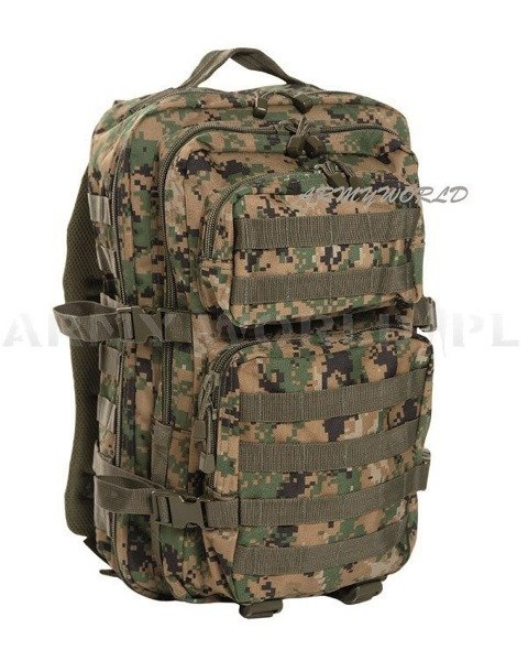 Backpack  Model US Assault Pack SM Marpat New