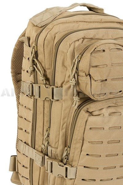 Backpack US Assault Pack SM model LASER CUT Coyote New