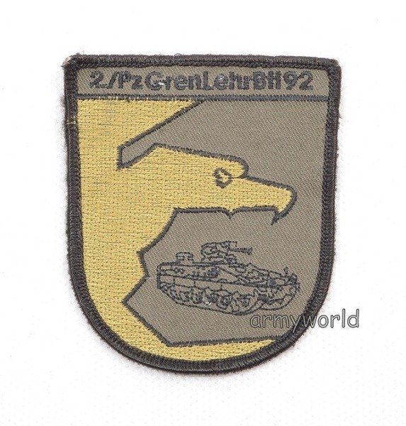 Badge 2/PZ GrenLehr BH92 Original Demobil SecondHand