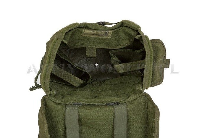 Bag  Military Haversack British Army Oliv Original Demobil