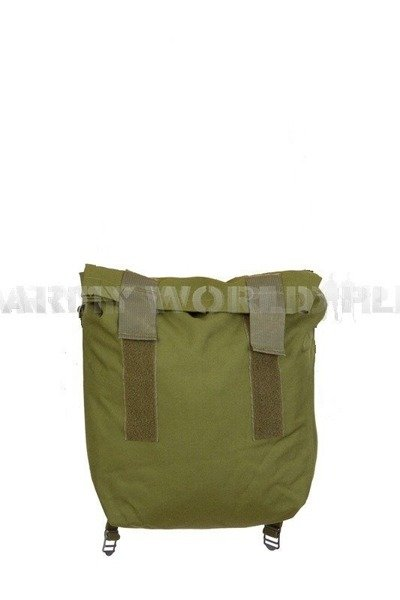 Bag Respirator Haversack Without Strap Oliv Danish Army Original New