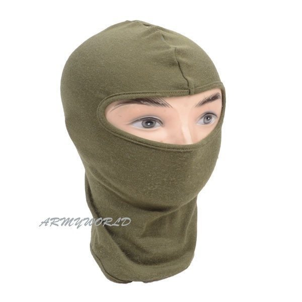 Balaclava Flame retardant NOMEX Oliv The original Demobil SecondHand