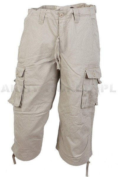Bermuda pants  Miltec trousers 3/4  US Air Combat Creamy New