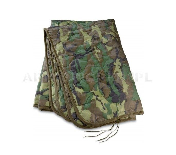 Blanket Deka Poncho Liner US Army WOODLAND Original Demobil