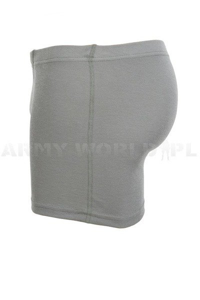 Boxer Shorts Thermoactive Silver Ions Underwear Dutch Army Grey New