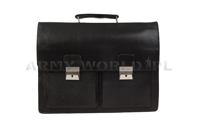 Briefcase Polish Army Black New Original Storage State