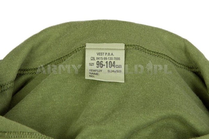 British Army Polo Shirt Olive Original Used
