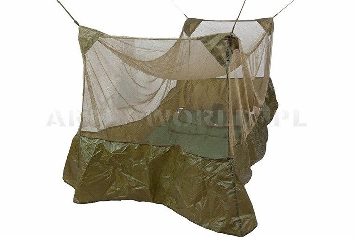 British Army Single Mosquito Bed Net Highlander Original Like New