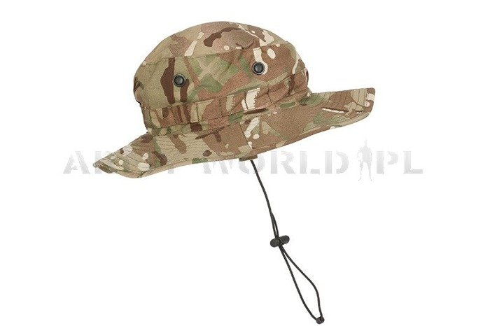 British Military Hat Tropical In Camouflage MTP (Multi Terrain Pattern) Original Used