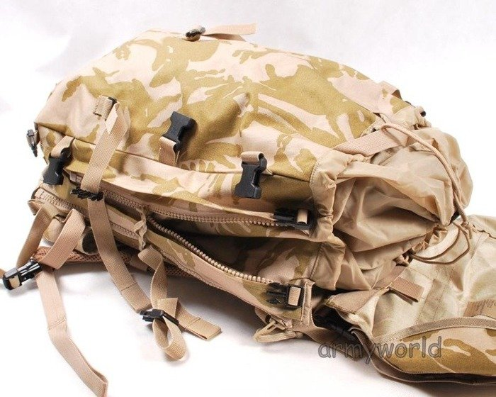 British Military Tactical Backpack Foldable DPM Desert Original New