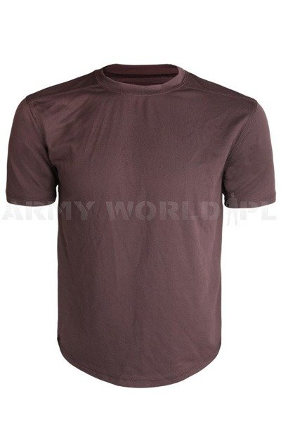 British Thermoactive T-shirt Coolmax Original Brown Demobil II Quality