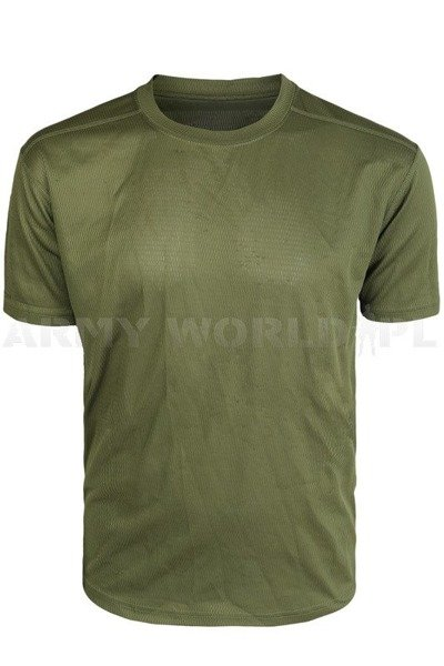 British Thermoactive T-shirt Coolmax Original Green Demobil - II Quality
