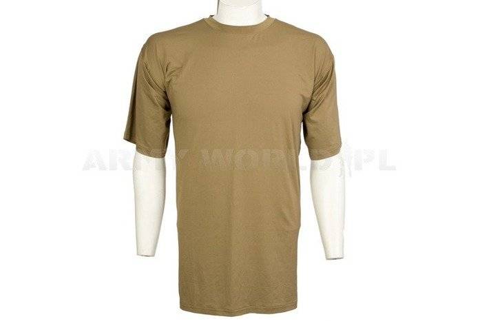 British Thermoactive T-shirt Coolmax Original Light Oliv Used
