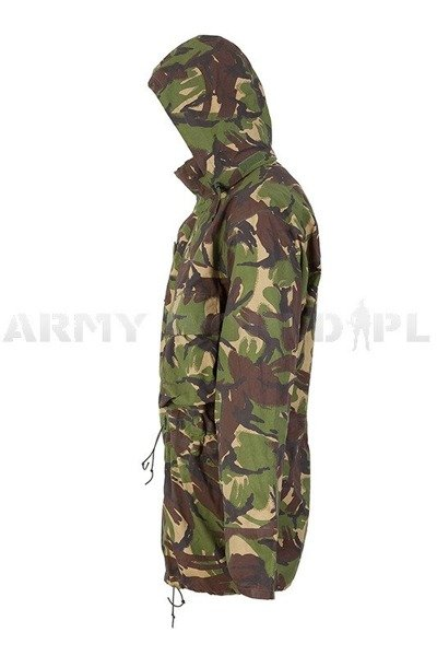 British Waterproof Jacket DPM Woodland Gore-tex With Pockets Original Demobil M4