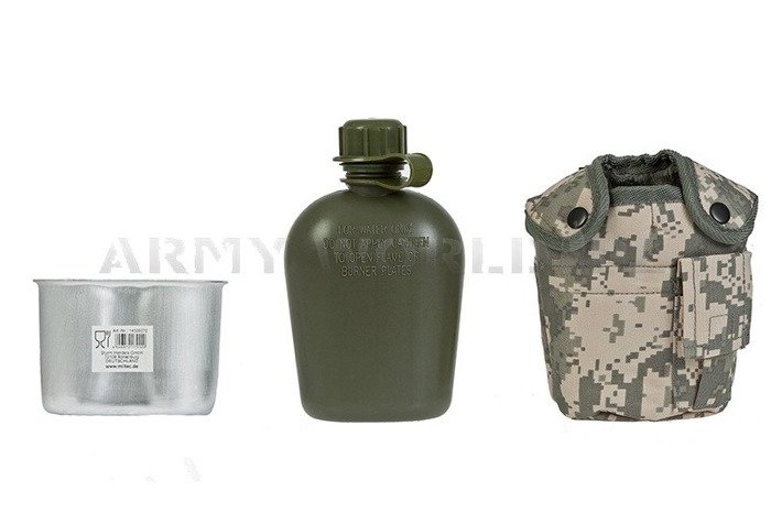 Canteen With Cup + Case ACU GRATIS Mil-tec New