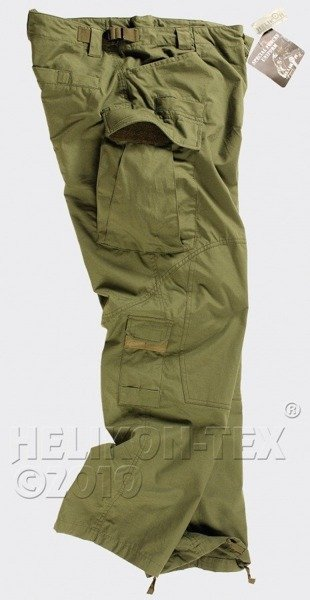 Cargo pants SFU Special Forces Uniform Helikon-Tex PolyCotton Ripstop - Oliv