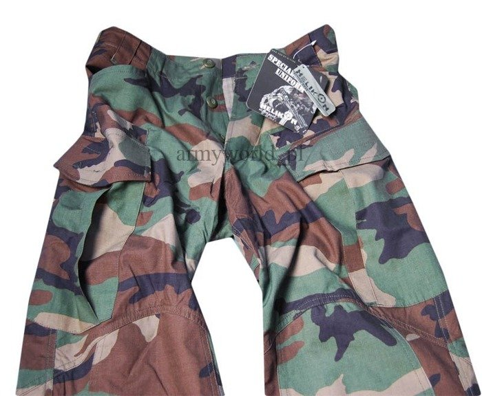 Cargo pants SFU Special Forces Uniform Helikon-Tex PolyCotton Ripstop - Us Woodland