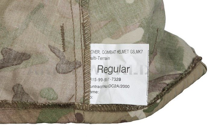 Case For Helmet MTP British Army Original New