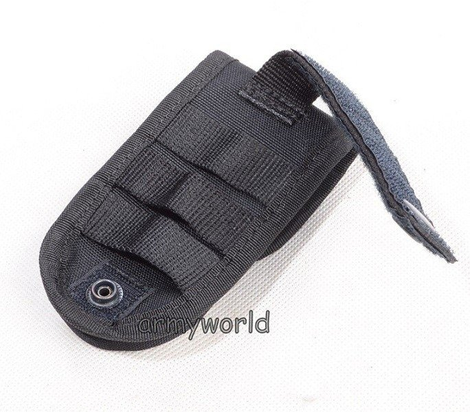 Case For Mobile Phone With MOLLE System Black New