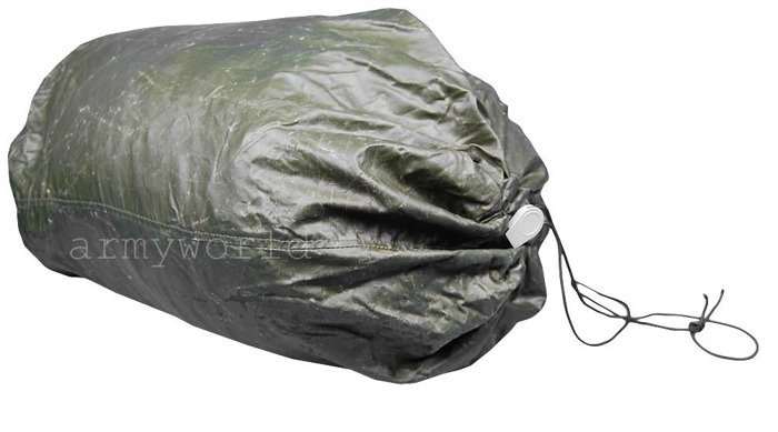 Case For Sleeping Bag Gore-tex Bundeswhr Version With Zipper and Bag Original Demobil