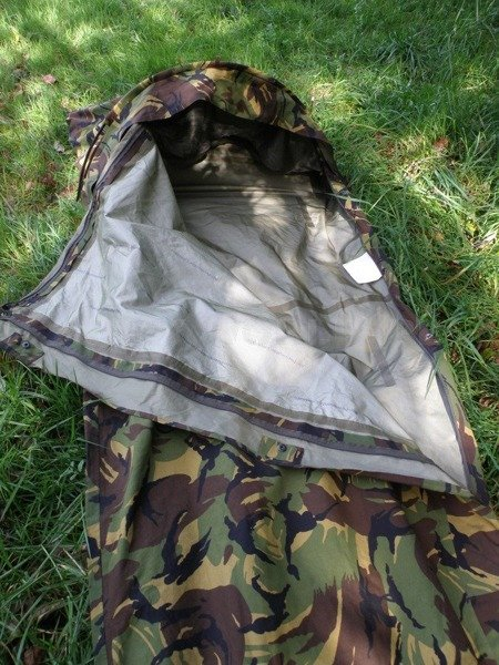 Case For Sleeping Bag With Mosquito Net Bivi Cover Norka Gore-tex Feuchter Dutch DPM Original New