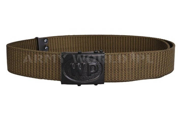 Chief Belt Military Polish Oliv Original New